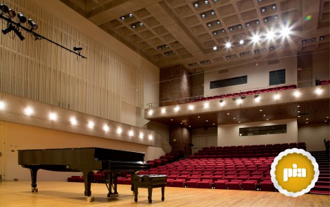 Lumenpulse Wins 2014 PIA Award for Buckley Recital Hall