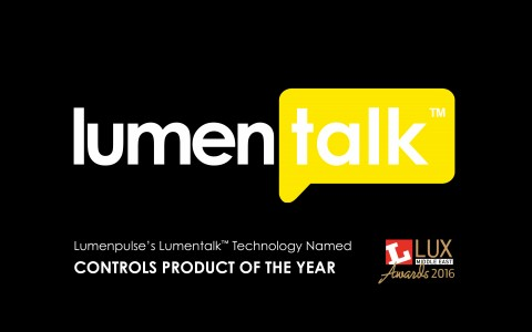 Lumentalk™ Technology Named Controls Product of the Year