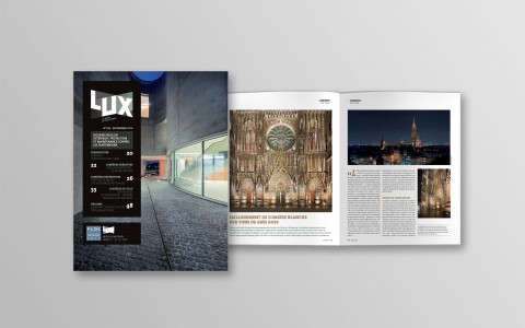 France's Lux Magazine Spotlights Strasbourg Cathedral