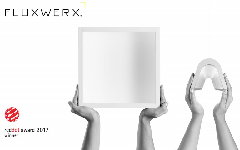 Fluxwerx Wins Again! Two More Red Dot Product Design 2017 Awards