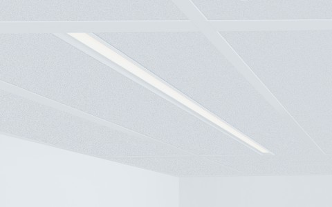 Lumenline Recessed Regressed Lens T-Bar