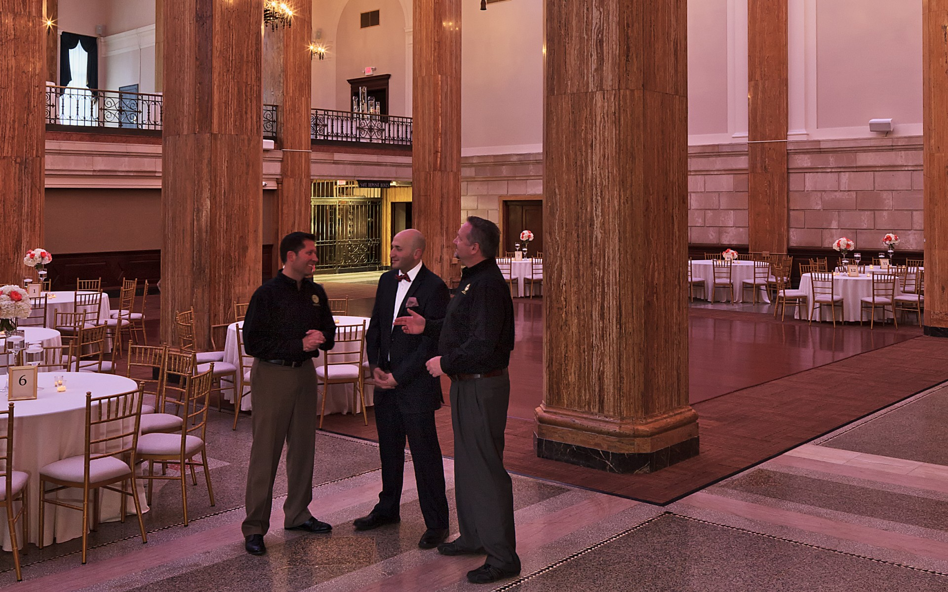 Designers American Energy Care (AEC) used Lumentalk technology to modernize the lighting system in a 112-year old building.