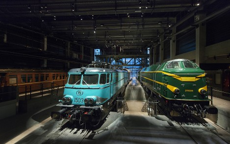 Train World, Belgium's new railway museum showcases the past, present and future of the railway.