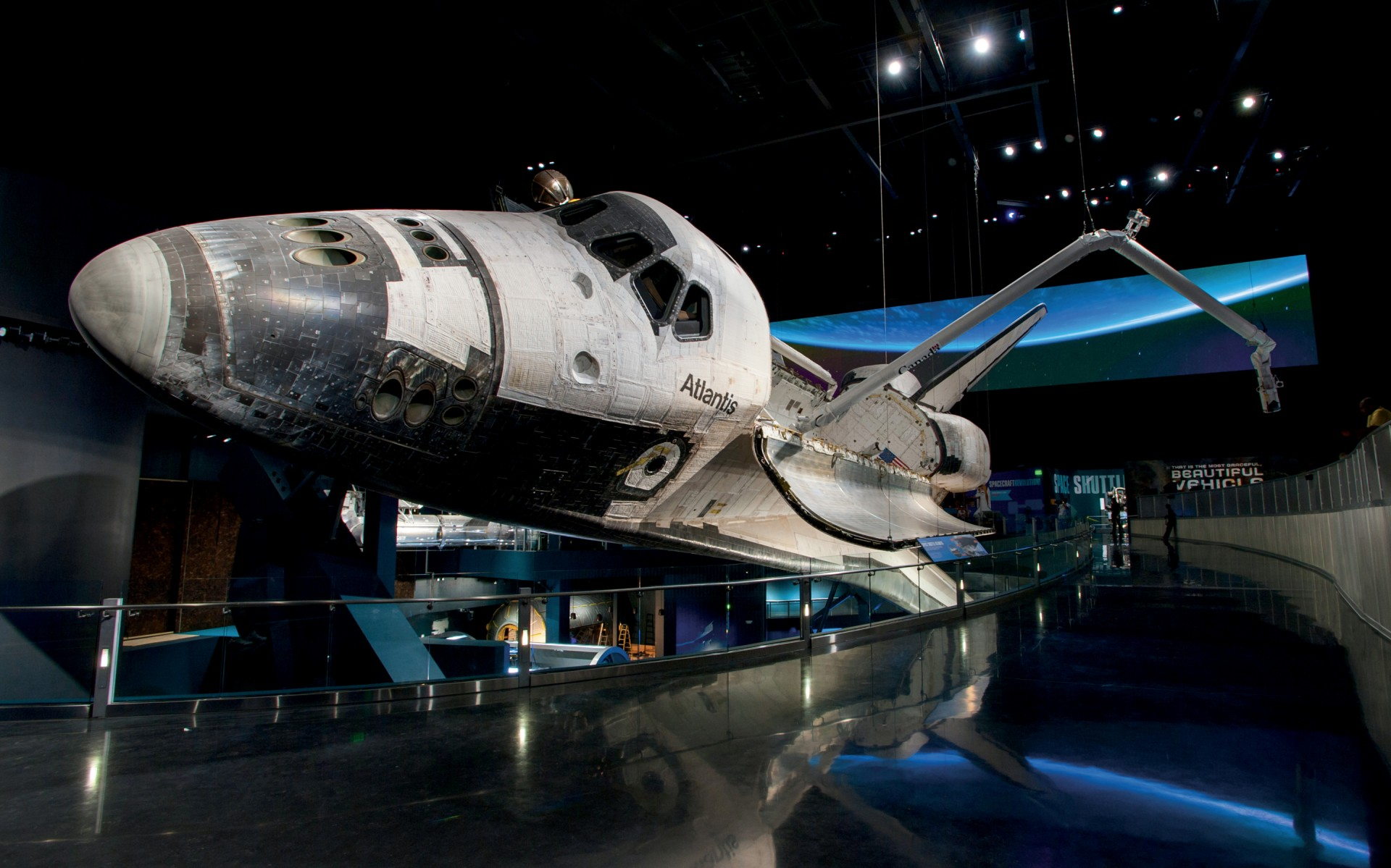 Space Shuttle Atlantis, Cape Canaveral, USA